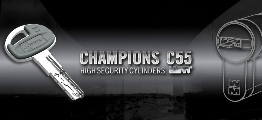 Cilindro Champions C55 Mottura Platinum