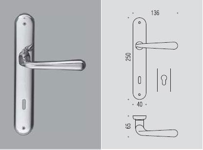 Robodue placca Colombo design