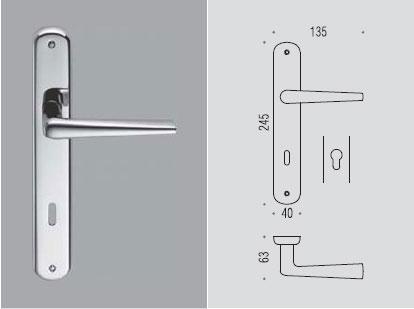 Robotre placca Colombo design