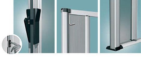 Zanzariera bazar libera guida ribassata 160x250 in kit later matteoda it - Tagliare vetro finestra ...