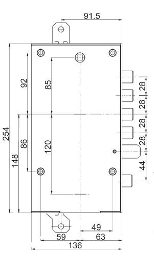 Serratura porta blindata mottura 89 k597dr s2 plurisistema - Mostrine porta blindata dierre ...