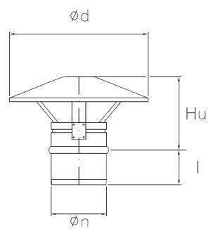 Monotec Black è la canna fumaria monoparete in acciaio realizzata  appositamente per camini 38d791e24e6b